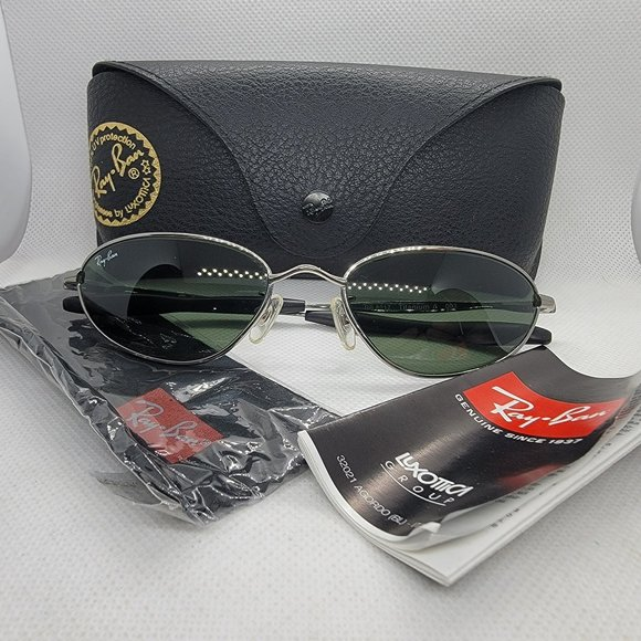Ray-Ban RB8017 003 Titanium Sunglasses w/ Case